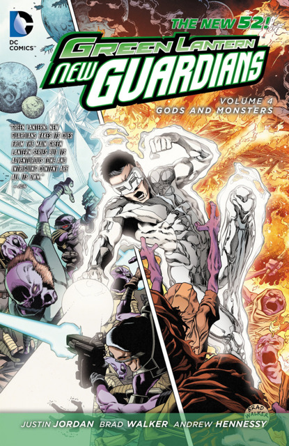 Green Lantern: New Guardians - Gods and Monsters