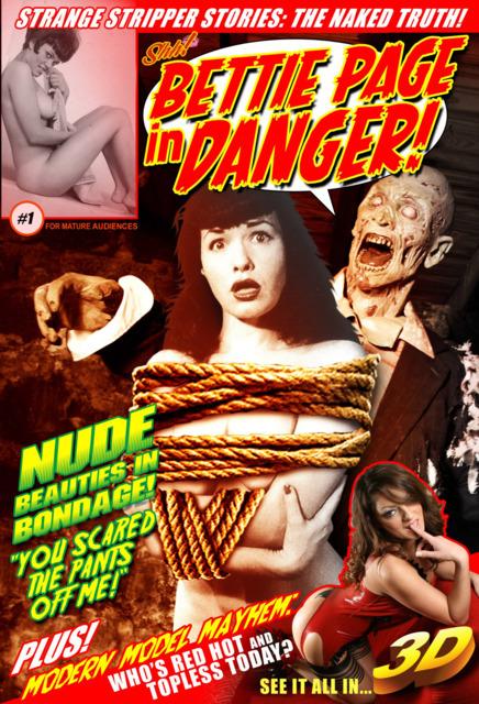 Bettie Page in Danger