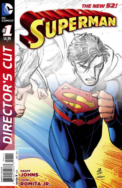 Superman #32 Director's Cut