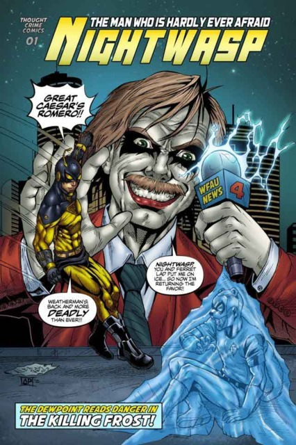 Nightwasp: The Man Who Is Hardly Ever Afraid