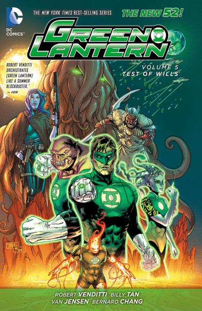 Green Lantern: Test of Wills