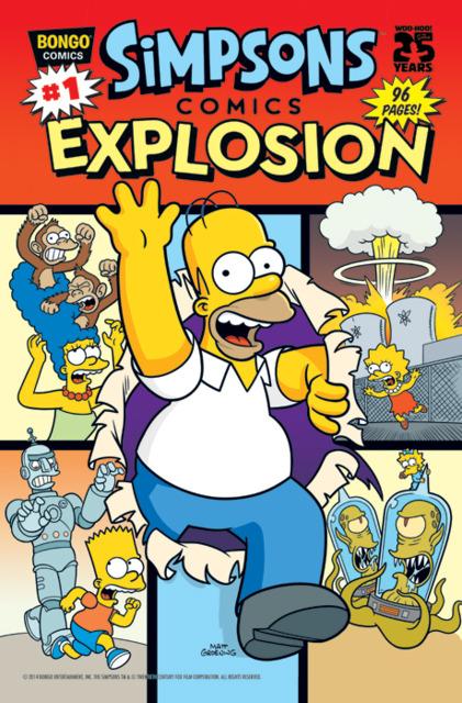 Simpsons Comics Explosion