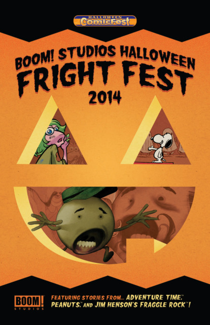 Boom! Studios Halloween Fright Fest Mini-Comic