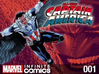All-New Captain America: Fear Him Infinite Comic