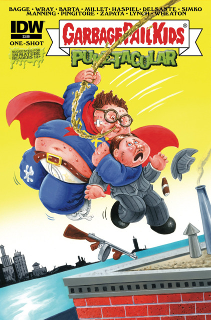 Garbage Pail Kids Comic-Book Puke-tacular