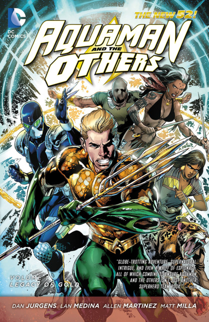 Aquaman and the Others: Legacy of Gold