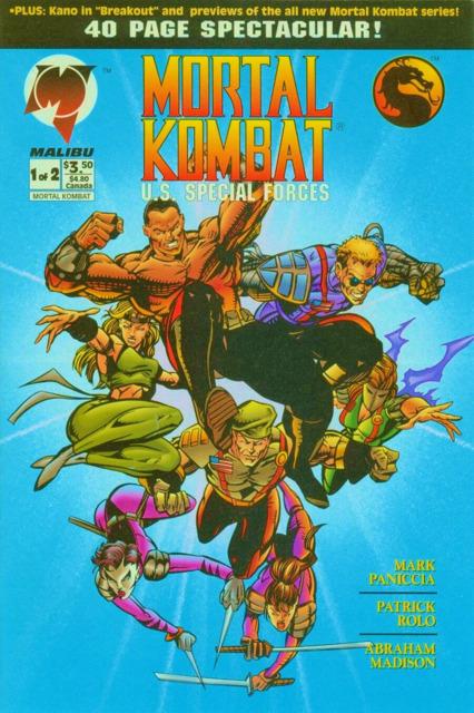 Mortal Kombat: U.S. Special Forces