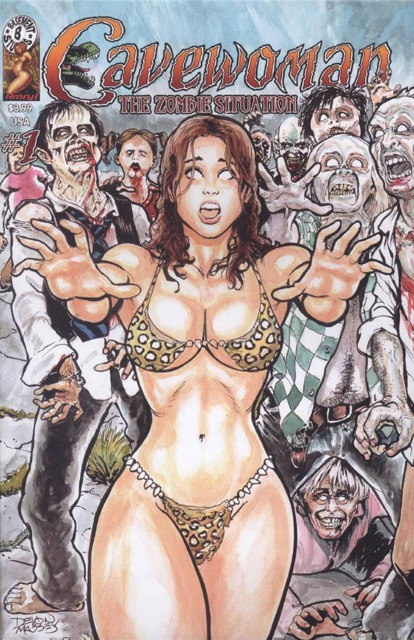 Cavewoman: The Zombie Situation