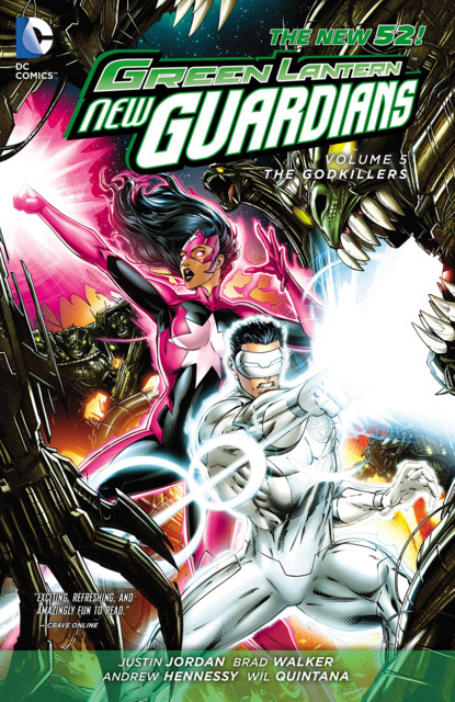 Green Lantern: New Guardians - The Godkillers