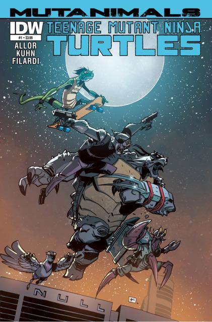 Teenage Mutant Ninja Turtles: Mutanimals