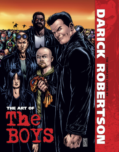 The Art of The Boys: The Covers by Darick Robertson