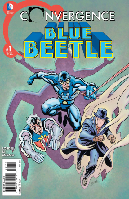 Convergence Blue Beetle