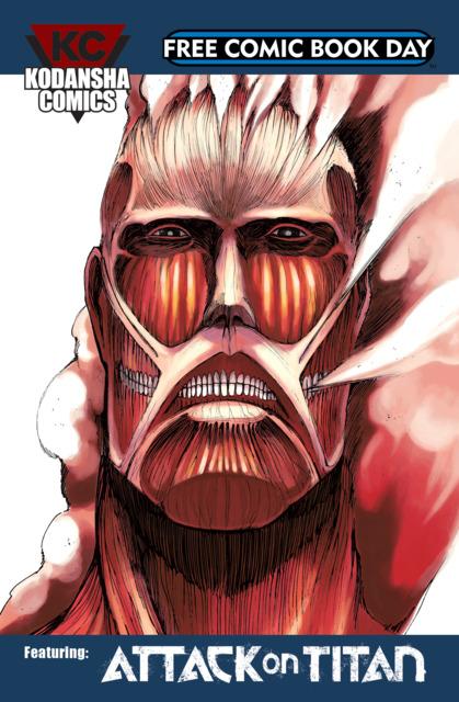 Kodansha Comics Free Comic Book Day Sampler