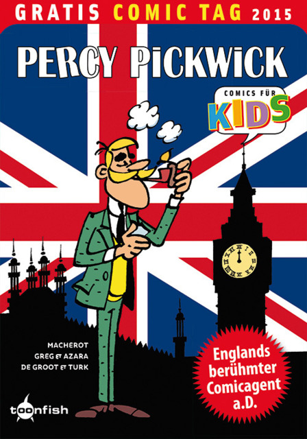 Percy Pickwick: Gratis Comic Tag 2015