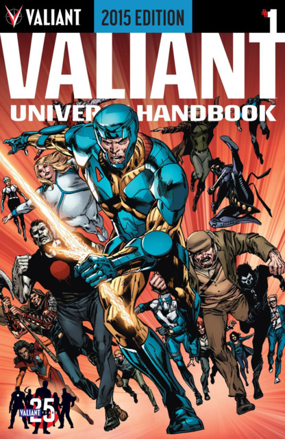 Valiant Universe Handbook 2015 Edition