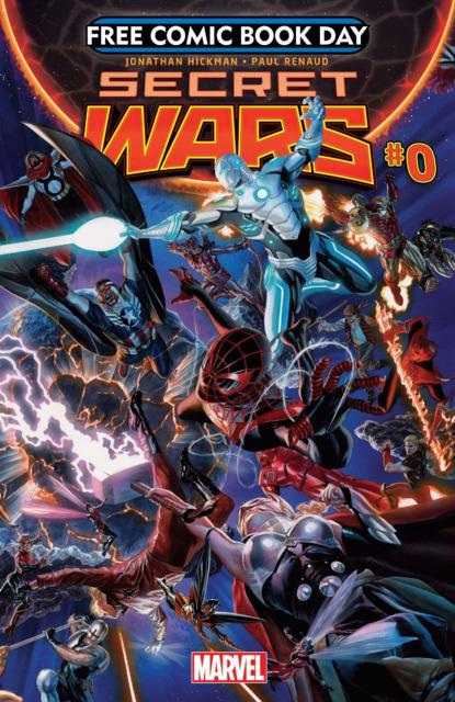 Free Comic Book Day 2015 (Secret Wars)