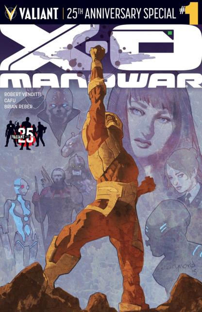 X-O Manowar: Valiant 25th Anniversary Special