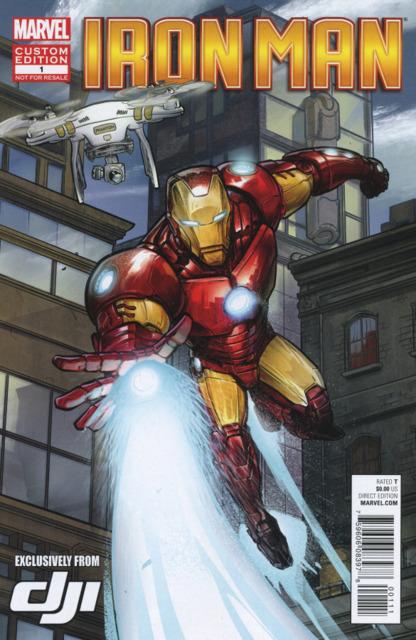 Iron Man Presented by DJI