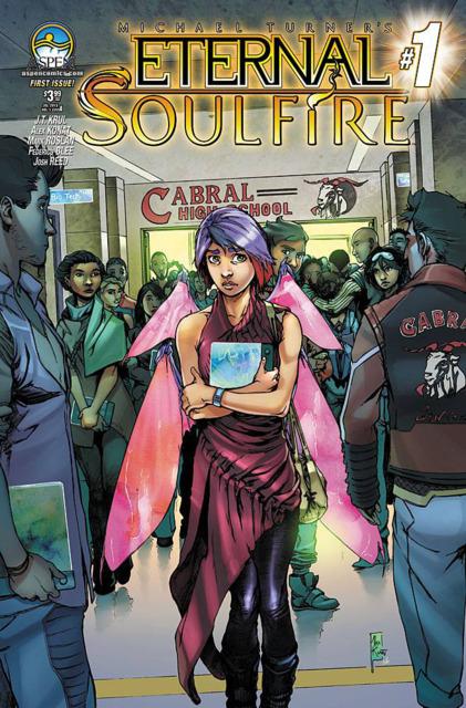 Michael Turner's Eternal Soulfire