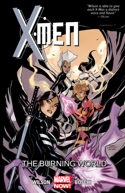X-Men: The Burning World
