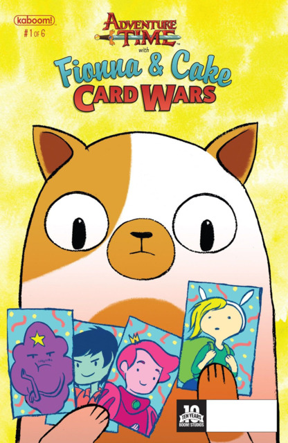Adventure Time With Fionna and Cake Card Wars