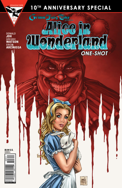 Grimm Fairy Tales presents Alice in Wonderland One-Shot