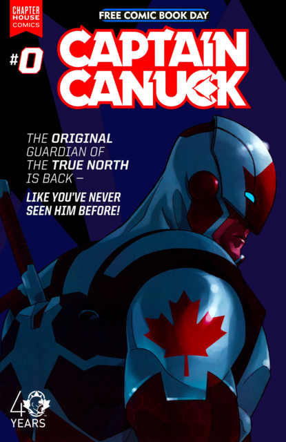 Captain Canuck Issue #0/FCBD Edition