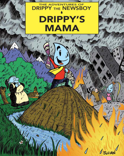 The Adventures of Drippy the Newsboy