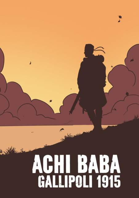 Achi Baba - Gallipoli 1915