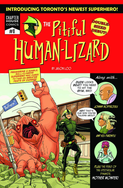 The Pitiful Human-Lizard
