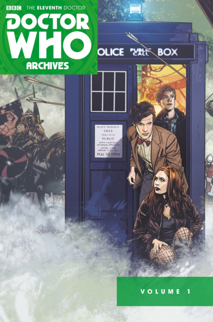 Doctor Who The Eleventh Doctor Archives Omnibus