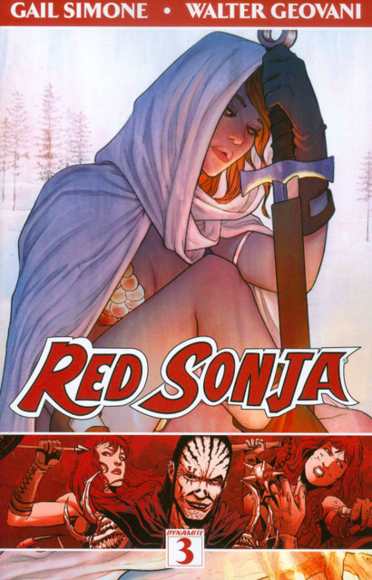 Red Sonja: The Forgiving of Monsters