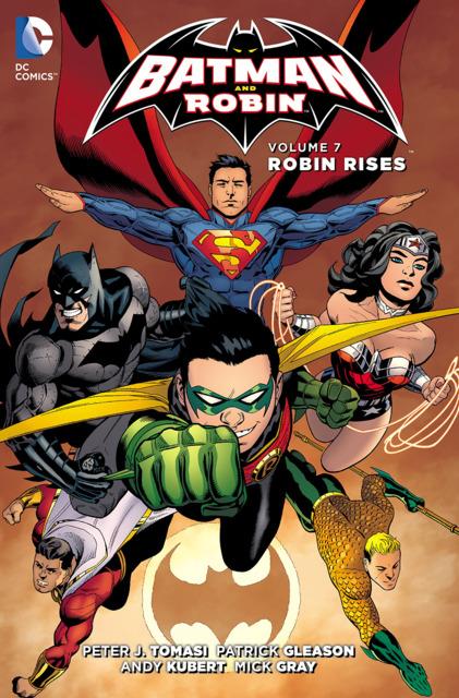 Batman and Robin: Robin Rises
