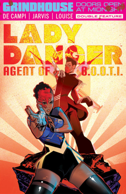 Grindhouse: Doors Open At Midnight Double Feature - Lady Danger: Agent of B.O.O.T.I./Nebulina