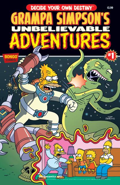 Grampa Simpson's Unbelievable Adventures