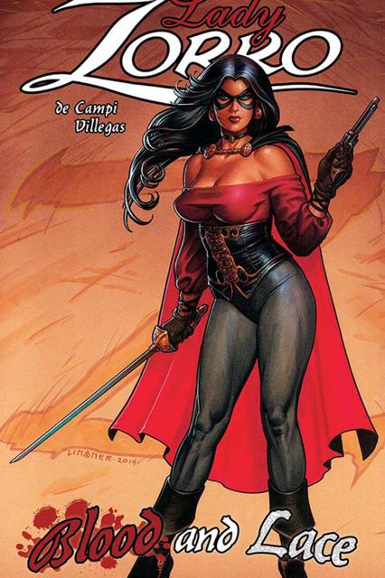 Lady Zorro: Blood and Lace