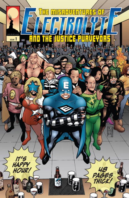 The Misadventures of Electrolyte and The Justice Purveyors
