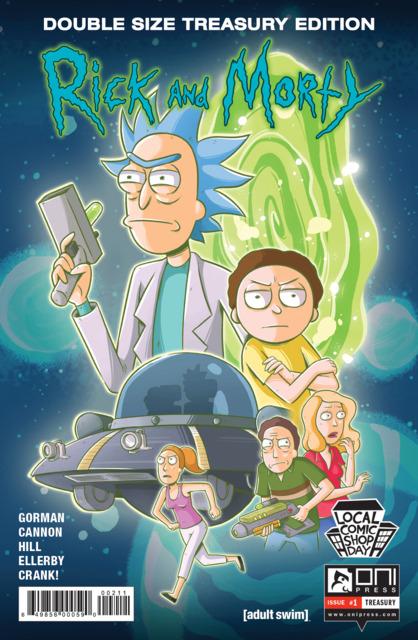 Rick and Morty Treasury Edition