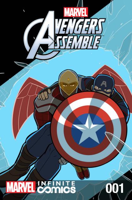 Marvel Universe Avengers Infinite Comic