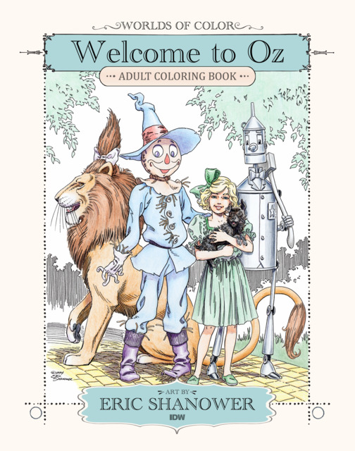Worlds of Color: Welcome to Oz Adult Coloring Book