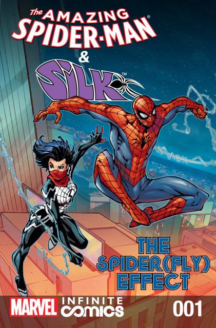 Amazing Spider-Man & Silk: Spider(Fly) Effect Infinite Comic