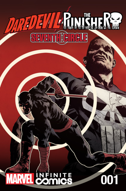 Daredevil/Punisher: Seventh Circle Infinite Comic