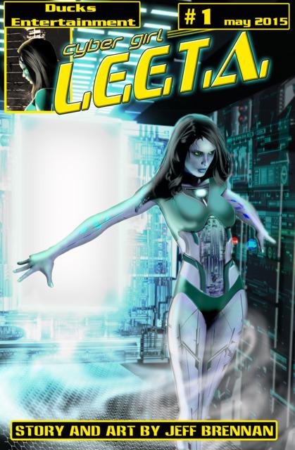 Cyber Girl L.E.E.T.A.