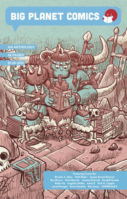 Big Planet Comics Blue