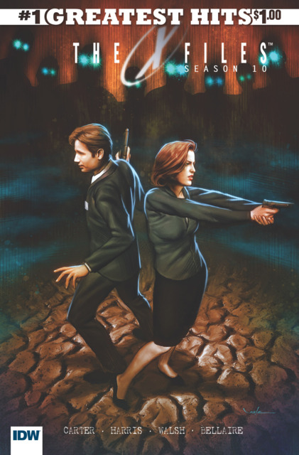 The X-Files: Season 10 #1 IDW's Greatest Hits Edition