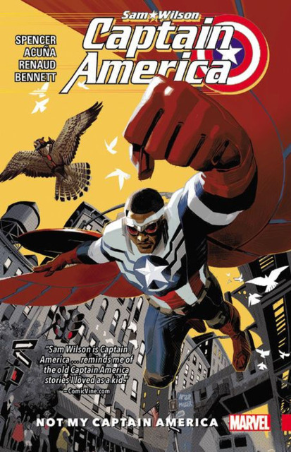 Captain America: Sam Wilson: Not My Captain America