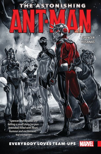 The Astonishing Ant-Man: Everybody Loves Team-Ups