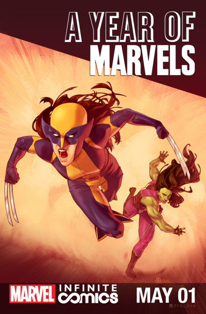 A Year Of Marvels: May Infinite Comic