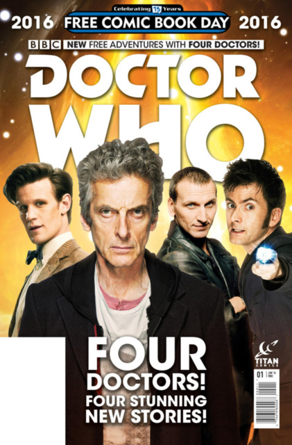 Doctor Who: Four Doctors Special FCBD