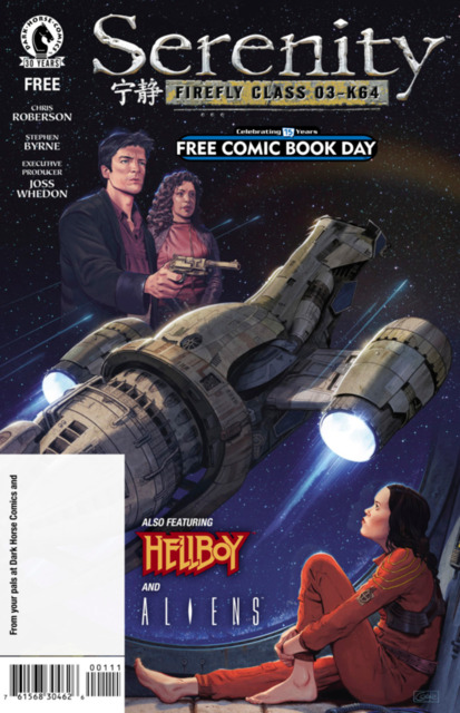 Free Comic Book Day 2016: Serenity